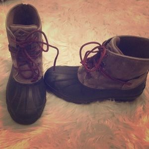Sperry Topsider Wedge Winter/Fall Boots